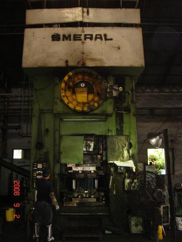 1 – USED 2500 TON SMERAL MECHANICAL HOT FORGING PRESS C-3872