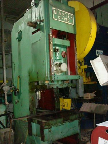 1 - USED 150 TON MINISTER GAP FRAME PUNCH PRESS C-3293