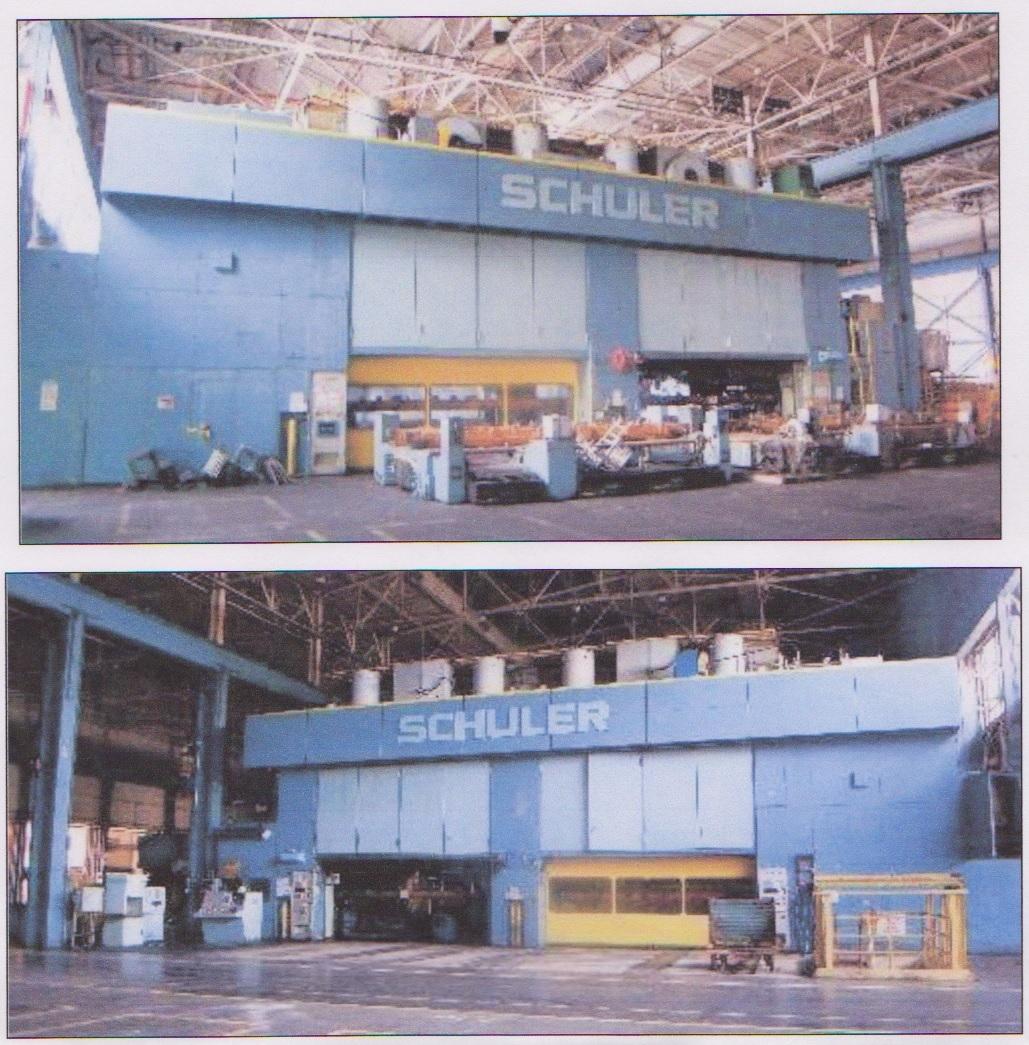 1 – USED 1500 TON SCHULER MECHANICAL PRESS C-4133