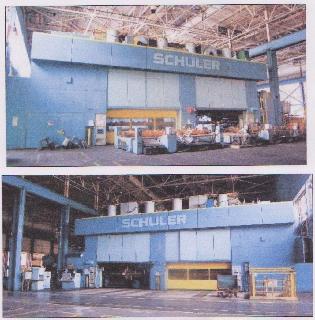 1 – USED 1500 TON SCHULER MECHANICAL PRESS
