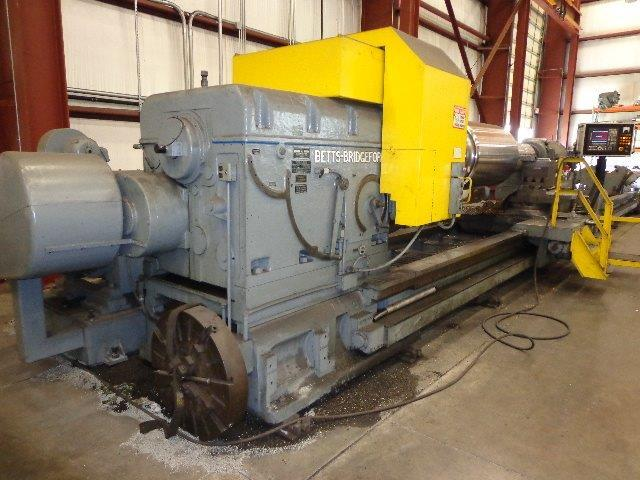 "1 – USED 74"" X 40' BETTS CNC SUPER HEAVY DUTY LATHE"