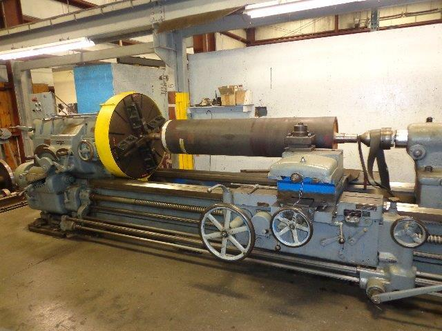"1 – USED 42"" X 160"" AMERICAN (SUPER PRODUCTIVE) HEAVY DUTY ENGINE LATHE"