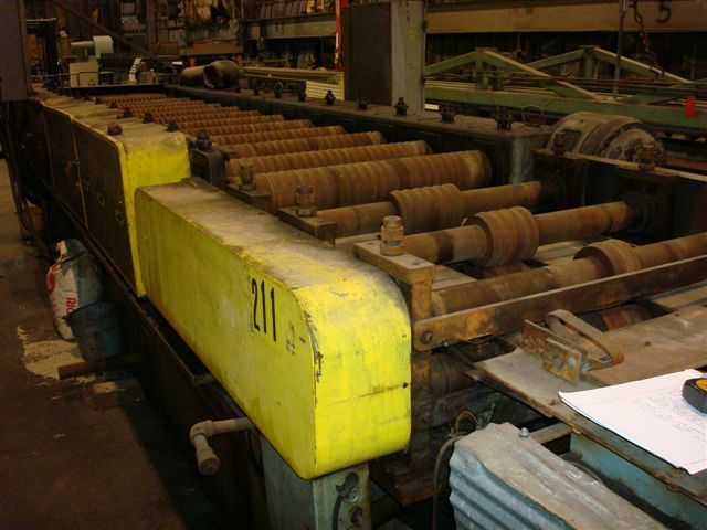 1 - USED 17-STAND TISHKEN ROLL FORMING LINE MODEL 14HW 2 14451