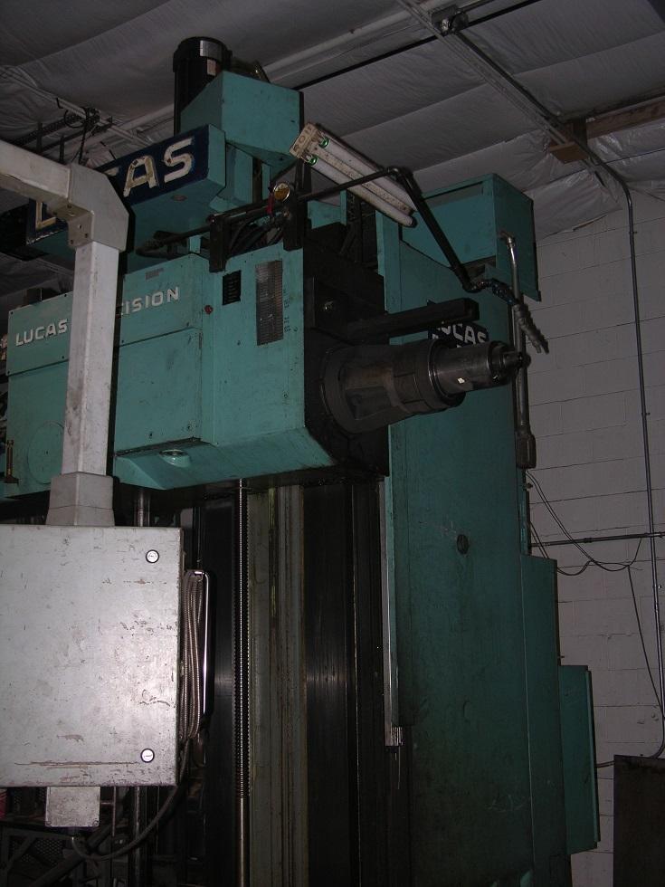 """1 - USED 5"""" LUCAS MODEL 542B84 4-AXIS CNC HBM C-4287"""