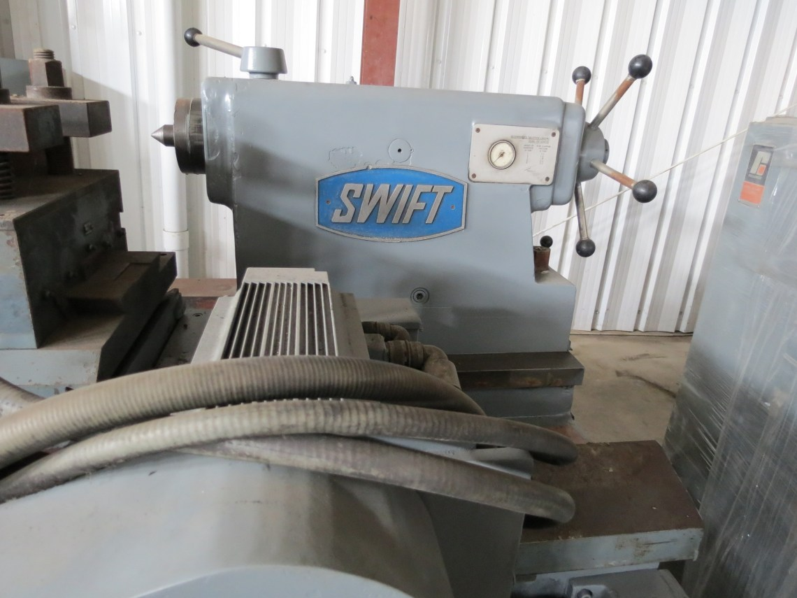"1 - USED 34"" X 96"" CRAWFORD SWIFT CNC ROLL TURNING LATHE"