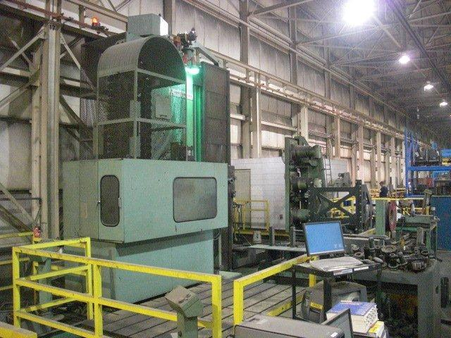 "1 - USED 6"" MITSUBISHI MAF-RS 150B  CNC FLOOR TYPE HORIZONTAL BORING MILL"