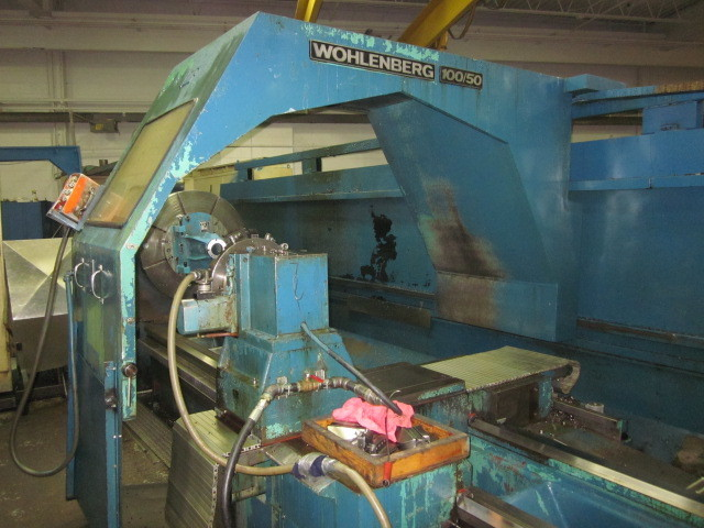"1 – USED 50""/100"" X 282"" VDF CNC SLIDING GAP BED LATHE C-4036"
