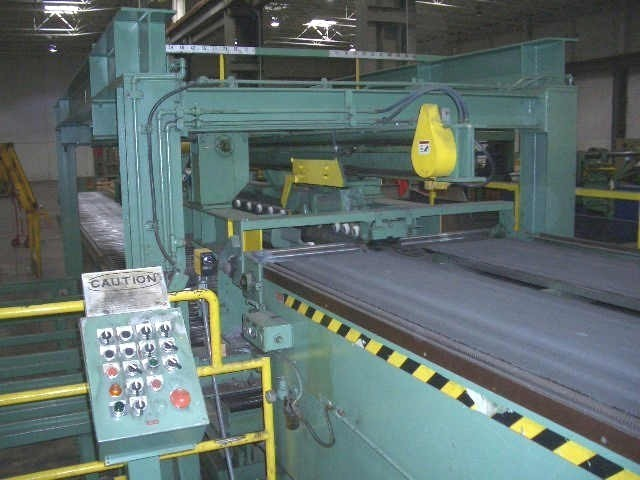 """1 – USED 60"""" X 0.125"""" X 30,000# PRO ECO/VOSS CUT TO LENGTH LINE"""