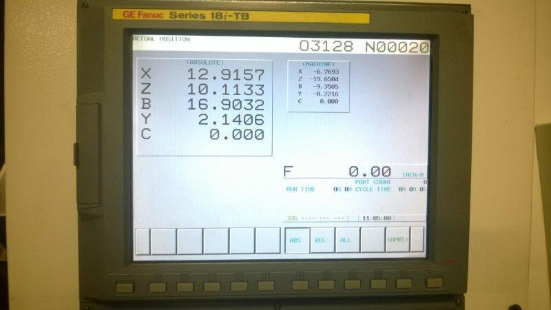 """1 – USED ROMI E320-BMY MULTI-AXES CNC TURNING CENTER WITH SUB-SPINDLE, LIVE TOOLING & """"Y"""" AXIS"""