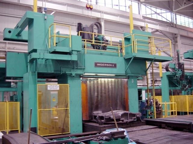 1 – USED INGERSOLL/WALDRICH 5 SIDED CNC BRIDGE TYPE MACHINING CENTER C-4495