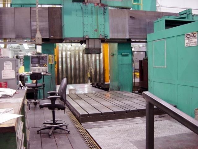 1 – USED INGERSOLL/WALDRICH 5 SIDED CNC BRIDGE TYPE MACHINING CENTER