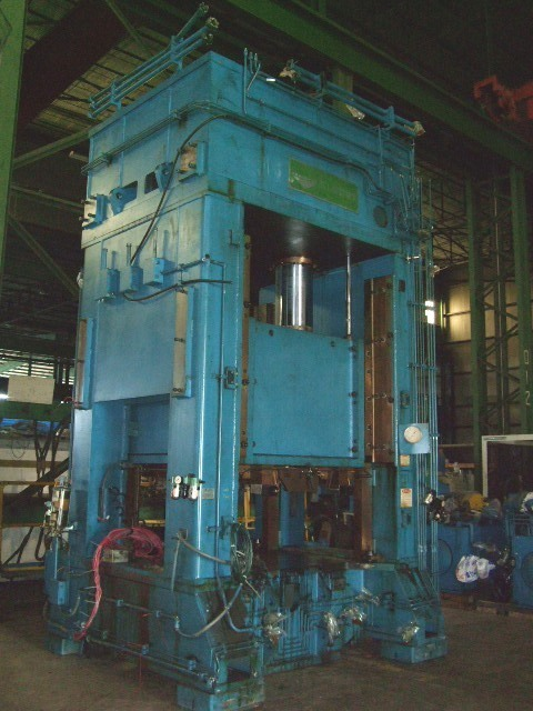 1 – USED P.H. HYDRAULICS 500 TON HYDRAULIC PRESS
