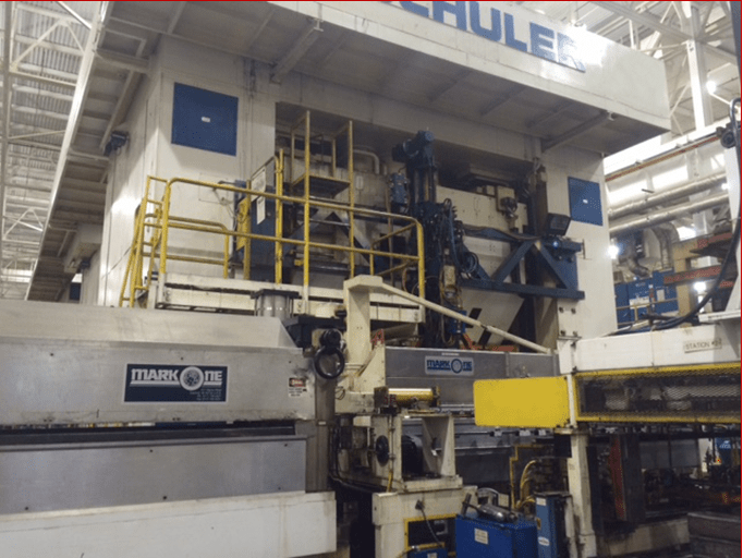 1 – USED 2,000 TON SCHULER SS MECHANICAL PRESS