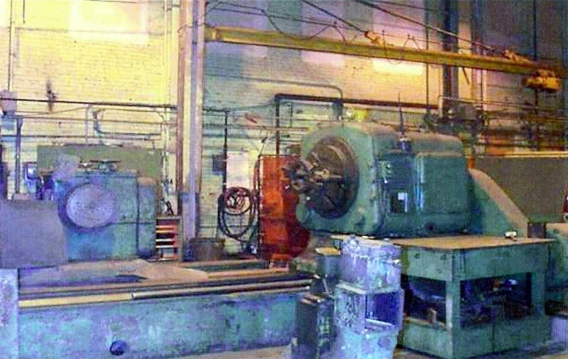 "1 – USED NAXOS-UNION 70"" X 180"" CYLINDRICAL GRINDER, TRAVELING WHEELHEAD C-4496"