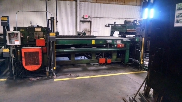 "72"" X .067"" DAHLSTROM PRESS FEED LINE LESS FEEDER C-4498"