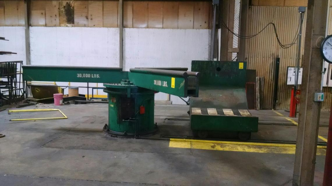 "72"" X .067"" DAHLSTROM PRESS FEED LINE LESS FEEDER"