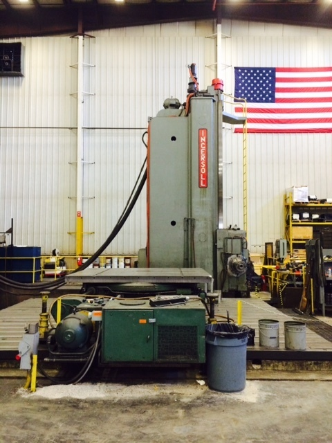 "1 – USED 7"" INGERSOLL CNC FLOOR TYPE HBM"