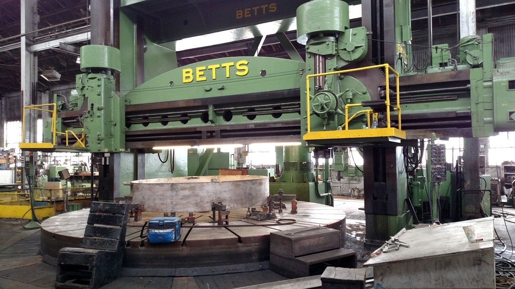 1 – USED 20'/27' BETTS VERTICAL BORING MILL C-5059