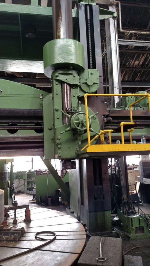 1 – USED 20'27' BETTS VERTICAL BORING MILL