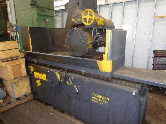 "1 – USED TYPE ""C"" 24"" X 48"" THOMSPON HEAVY DUTY HYDRAULIC SURFACE GRINDER C-5060"