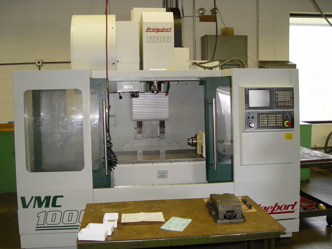 1 – USED 2001 BRIDGEPORT VMC1000XP