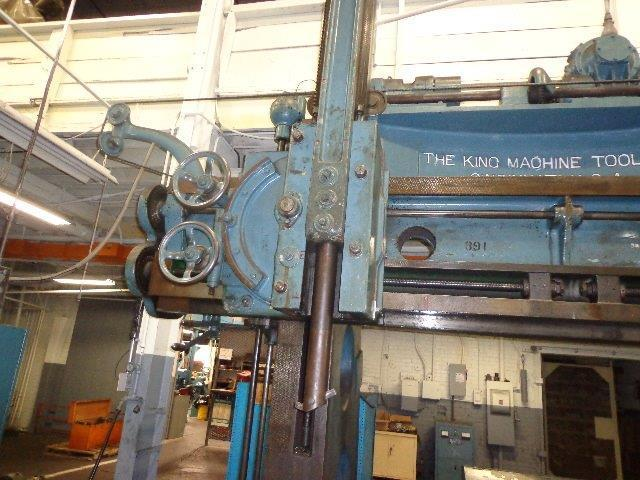 "1 – USED 80""/90"" KING VERTICAL BORING MILL"