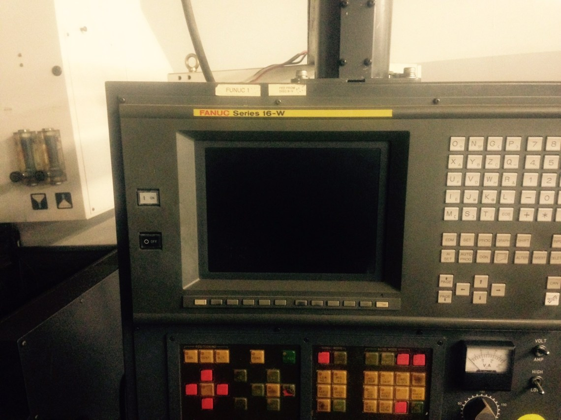 ​1 – USED FANUC ROBOCUT ALPHA-1B 5-AXIS CNC WIRE TYPE EDM