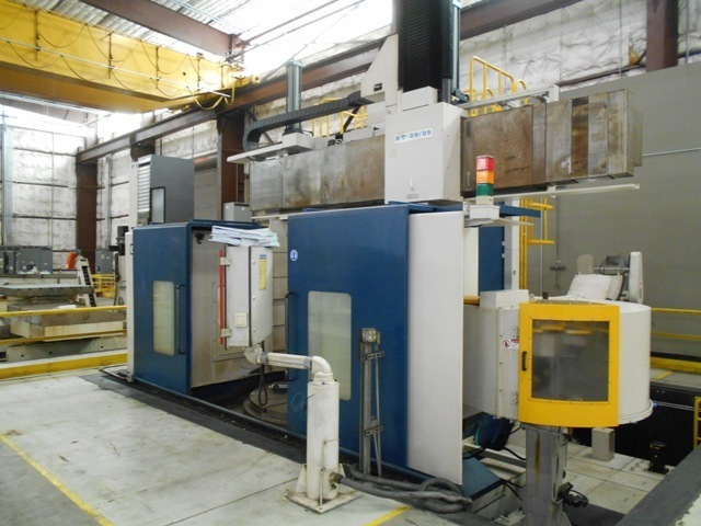 "1 – USED 78""/98"" HNK NT-20/25 CNC VERTICAL BORING MILL C-5095"