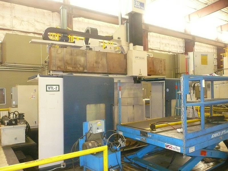 1 – USED CNC HNK VERTICAL BORING MILL WITH AUTOMATIC TOOL CHANGER C-5067