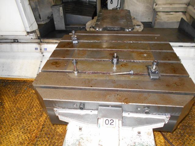 "1 – USED DOOSAN ACE H-100 DUAL 40"" PALLET HORIZONTAL MACHINING CENTER"