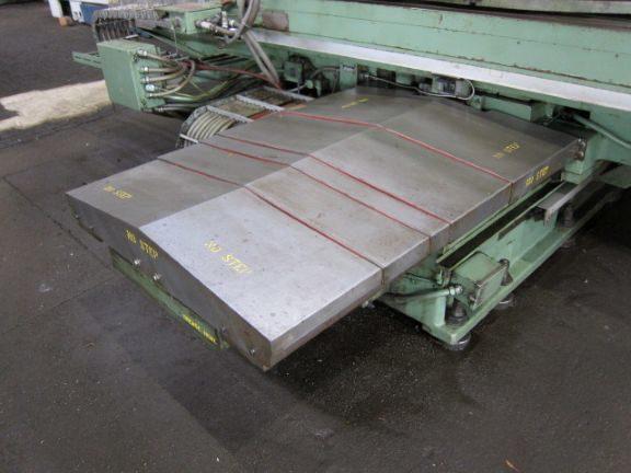 "1 – USED CINCINNATI-GILBERT MODEL J 5"" CNC TABLE TYPE HORIZONTAL BORING MILL"