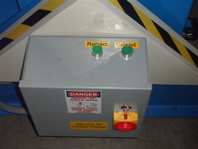 1 – NEW MODEL HU12000 HYDRAULIC COIL UPENDED