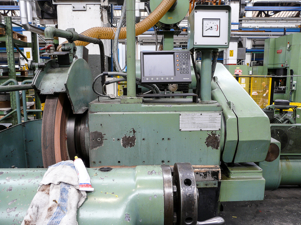 "1 – USED 42"" X 192"" CHURCHILL HD PLAIN CYLINDRICAL GRINDER"