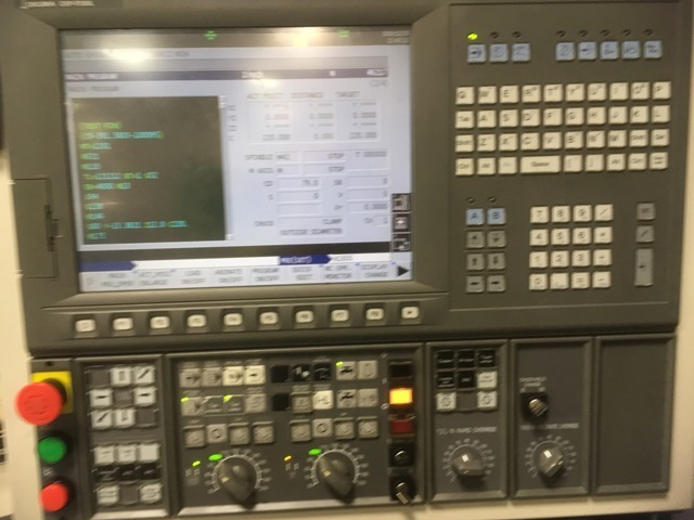 "1 – USED 47""/59"" OKUMA VTM-120YB VERTICAL MILL-TURN CENTER"