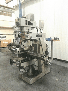 1 – USED 3 HP BEAVER TURRET TYPE VERTICAL MILLING MACHINE C-5206