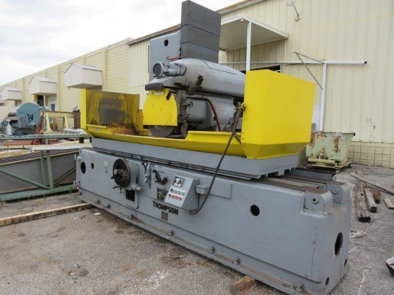 """1 – USED 24"""" X 48"""" THOMPSON HYDRAULIC 3-AXIS SURFACE GRINDER"""