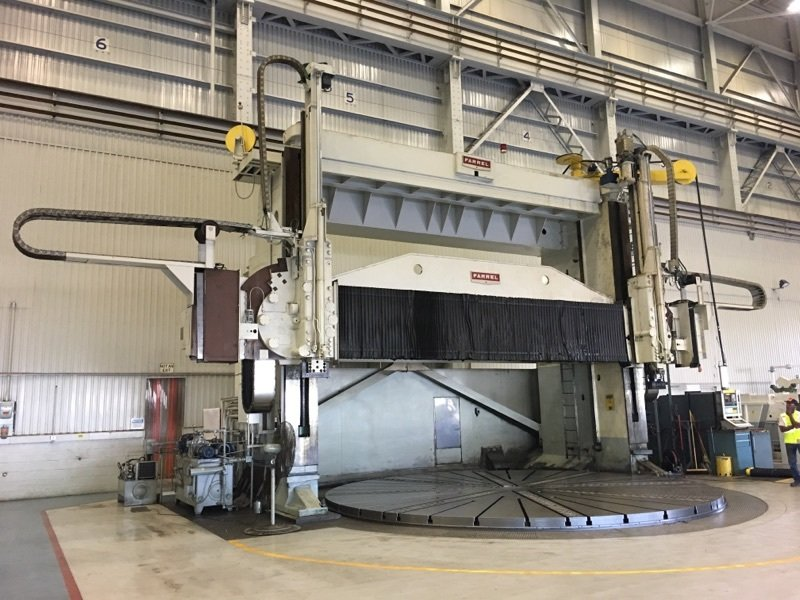 """1 – USED 300"""" FARREL 5-AXIS VERTICAL BORING MILL"""