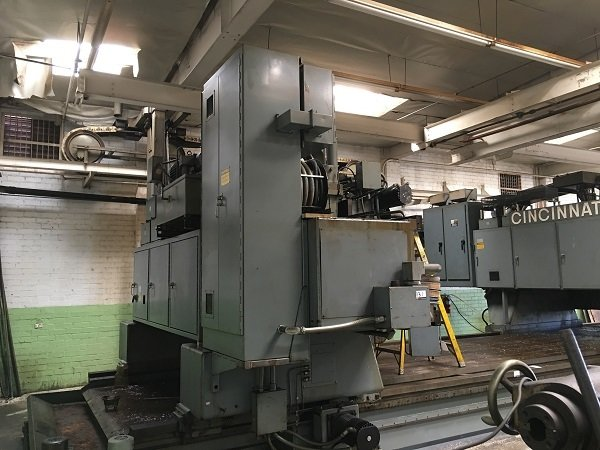 1 – USED CINCINNATI 2 SPINDLE 5-AXIS 2 GANTRY PROFILER
