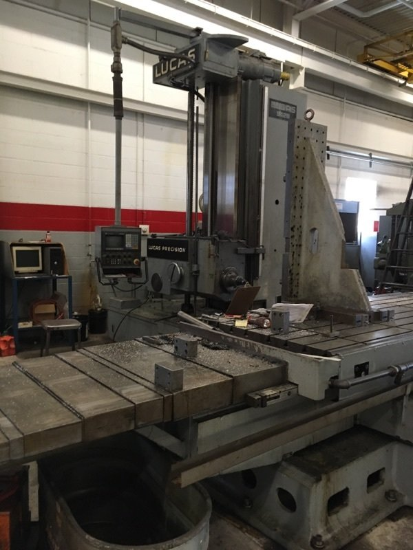 "1 – USED 5"" LUCAS CNC TABLE TYPE HBM C-5308"