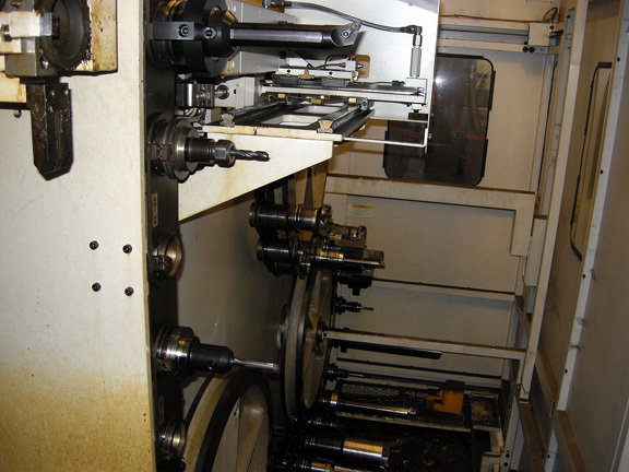 1 – USED OKUMA MODEL VTM-200YB 5-AXIS CNC VERTICAL TURRET LATHE