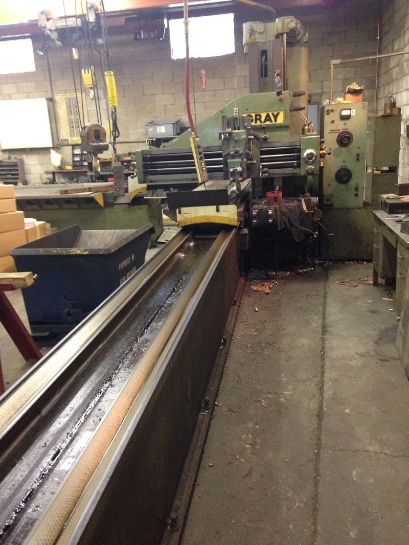 "1 – USED 30"" X 16' GRAY OPEN SIDE PLANER"