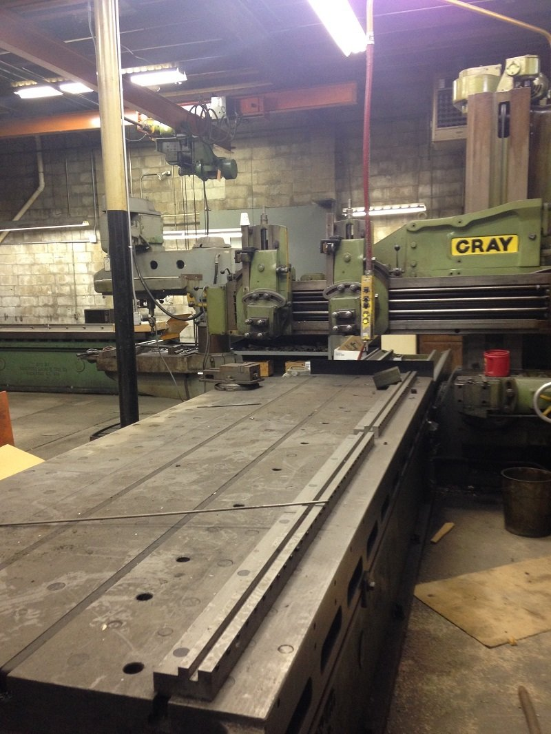 "1 – USED 42"" X 12' GRAY OPEN PLANER C-5354"