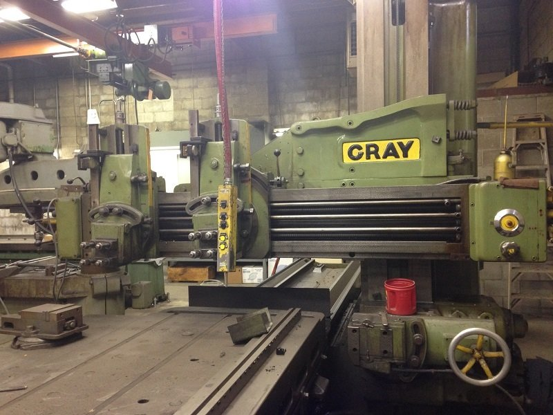 "1 – USED 42"" X 12' GRAY OPEN PLANER"