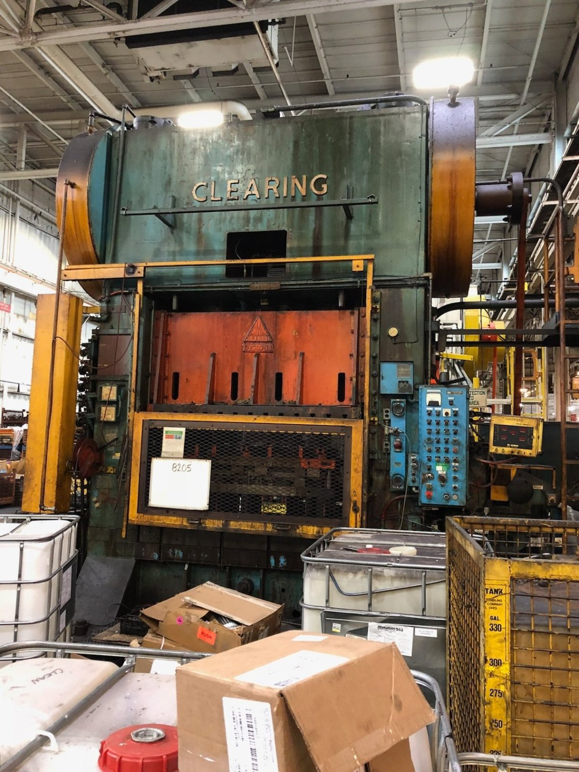 ​1 – USED 600 TON CLEARING SSDC PRESS