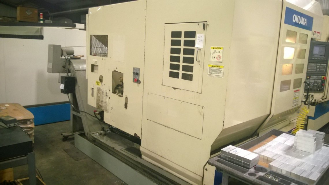 1 – USED OKUMA MC-V3016 CNC VERTICAL MACHINING CENTER