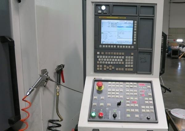 "1 – USED 78"" X 47"" X 30"" YCM DCV2012B DOUBLE COLUMN VERTICAL MACHINING CENTER"