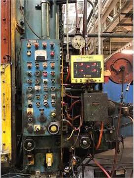 1 – USED 600 TON VERSON SSDC PRESS