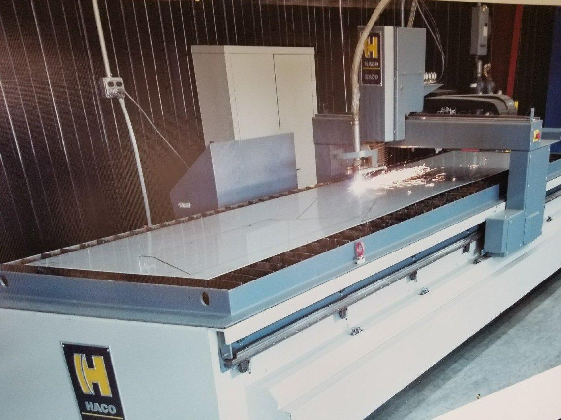 1 – USED HACO 3015 HYPERTHERM 130 AMP 5' X 10' CNC PLASMA C-5412