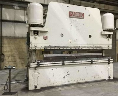 1 – USED 600 TON PACIFIC MODEL #600-14 HYDRAULIC PRESS BRAKE