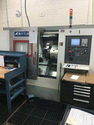 1 – USED AERO-TURN BT-380 2-AXIS CNC TURNING CENTER